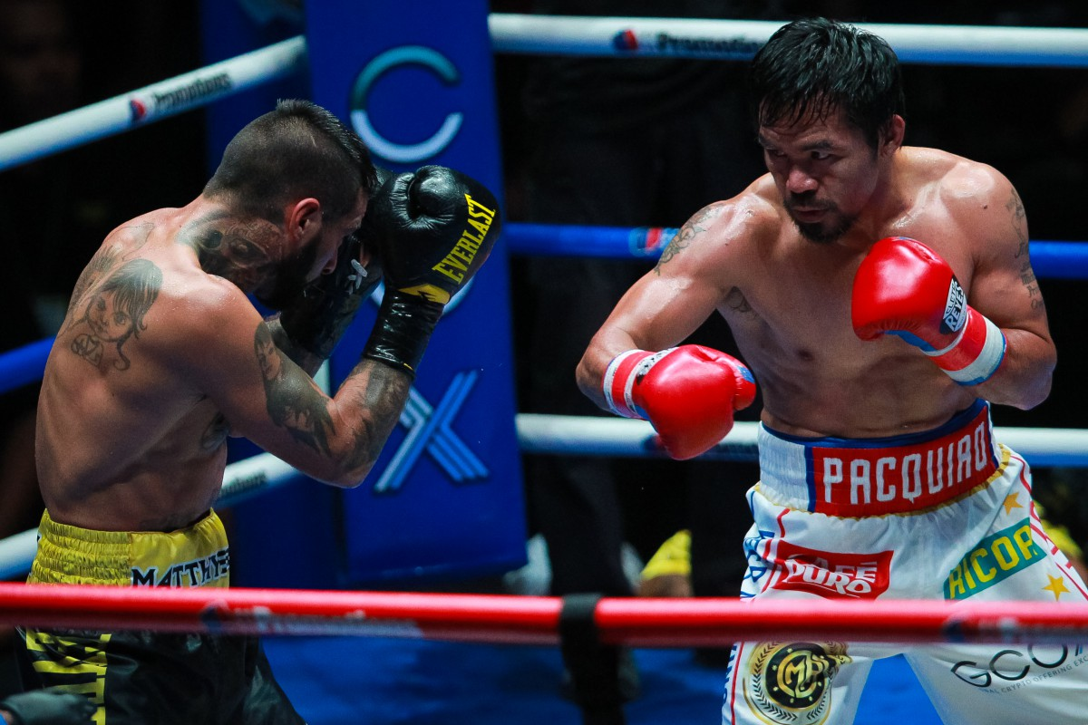 Pacquiao Beats Thurman To Lift WBA Super Welterweight Title
