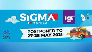 Sigma Manila logo and dates for conference