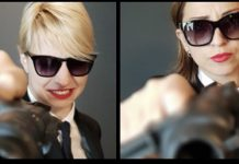 Ask Gamblers Awards, women in black with sunglasses