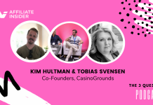 3 Questions Podcast: Tobias & Kim from CasinoGrounds