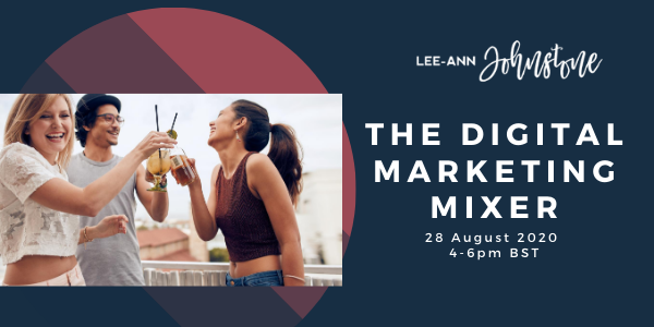Digital Marketing Mixer August 2020