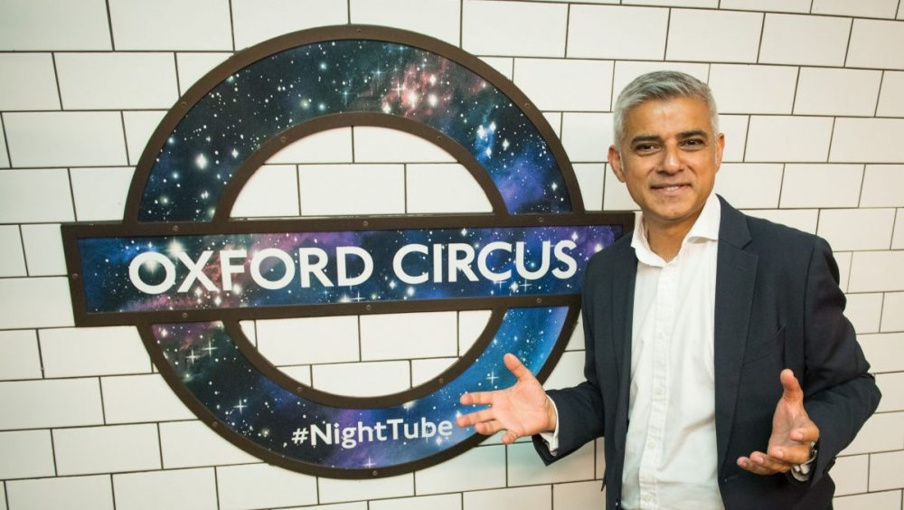 London Mayor Sadiq Khan pledges Underground gambling advertising ban -  CasinoBeats