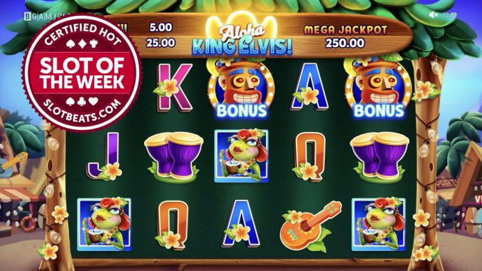 BGaming said 'aloha' to the SlotBeats SOTW title taking the award all the way to Hawaii with its latest release, Aloha King Elvis.