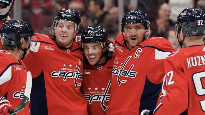 The Washington Capitals and Caesars have agreed to a partnership that places the Caesars Sportsbook logo on Capitals' home and third jerseys.