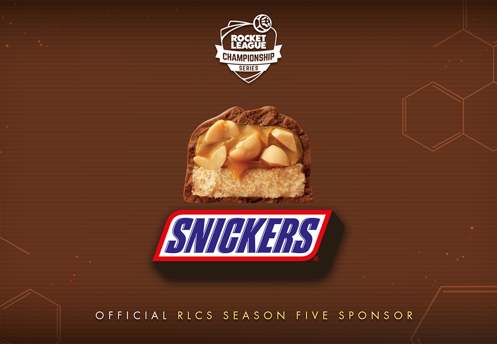 Rocket League Championship Series welcomes Snickers as sponsor