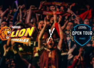 LION Cereal League of Legends Open Tour France