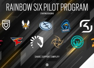 rainbow six pro league pilot program; penta; vitality; evil geniuses; rogue; sk gaming; mousesports; faze clan; liquid; nip; immortals; fnatic
