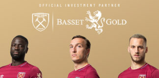 West Ham Basset & Gold