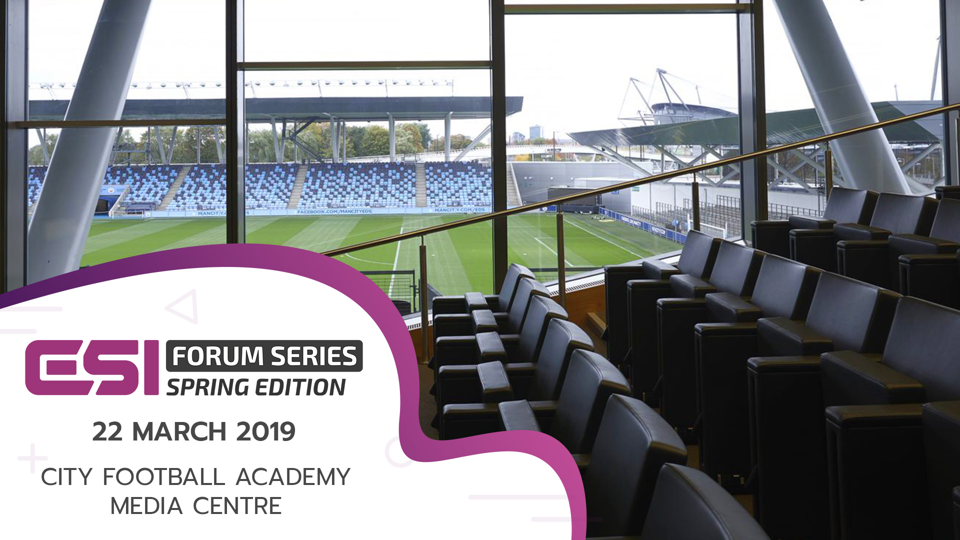 ESI Forum Spring Promo Image2 - Manchester is the venue for ESI Spring as Weavr added to Winter Forum lineup