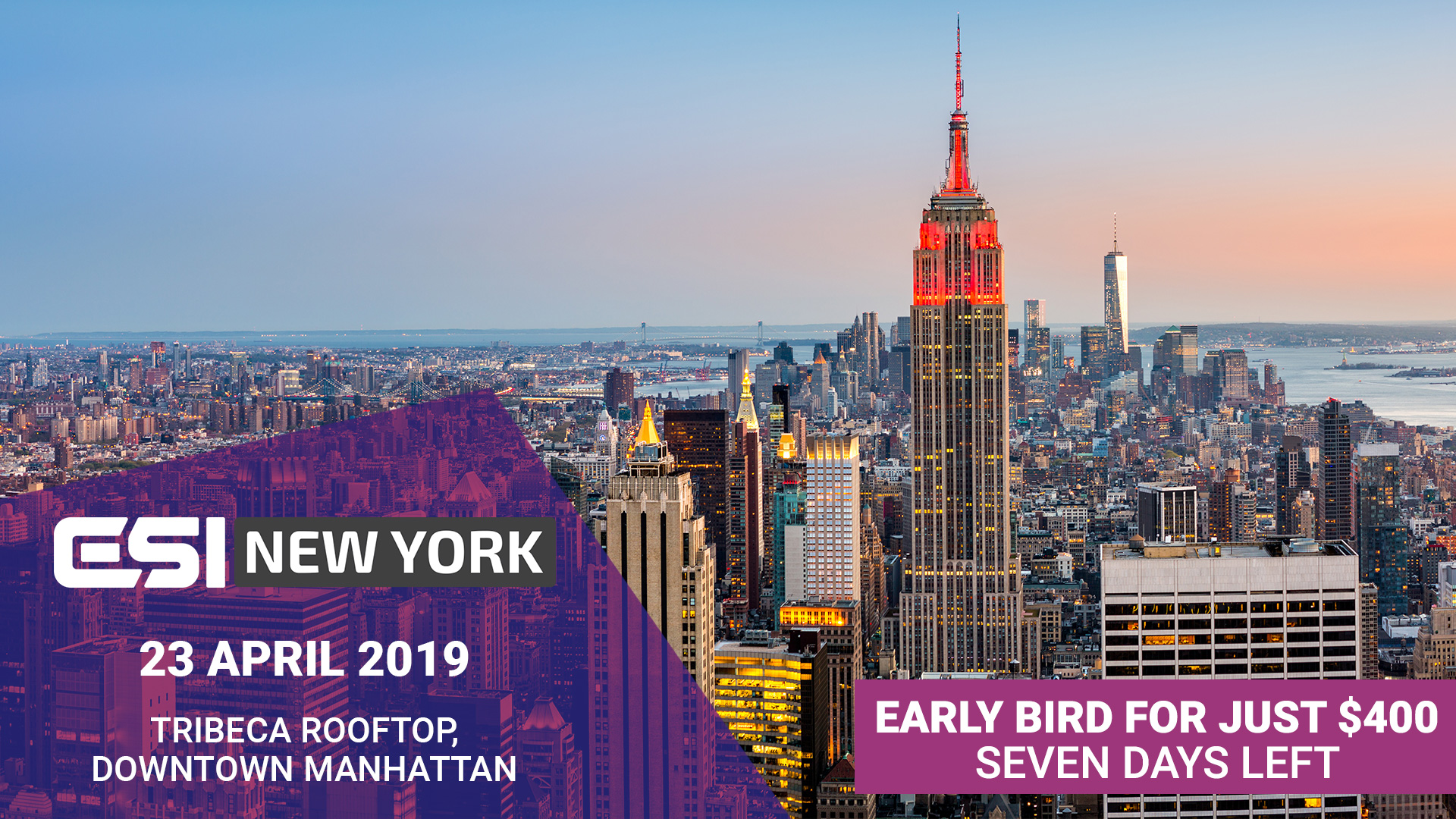 ESI NY PROMO 1920x1080px 7 - 5 reasons to secure your early bird #ESINYC tickets now
