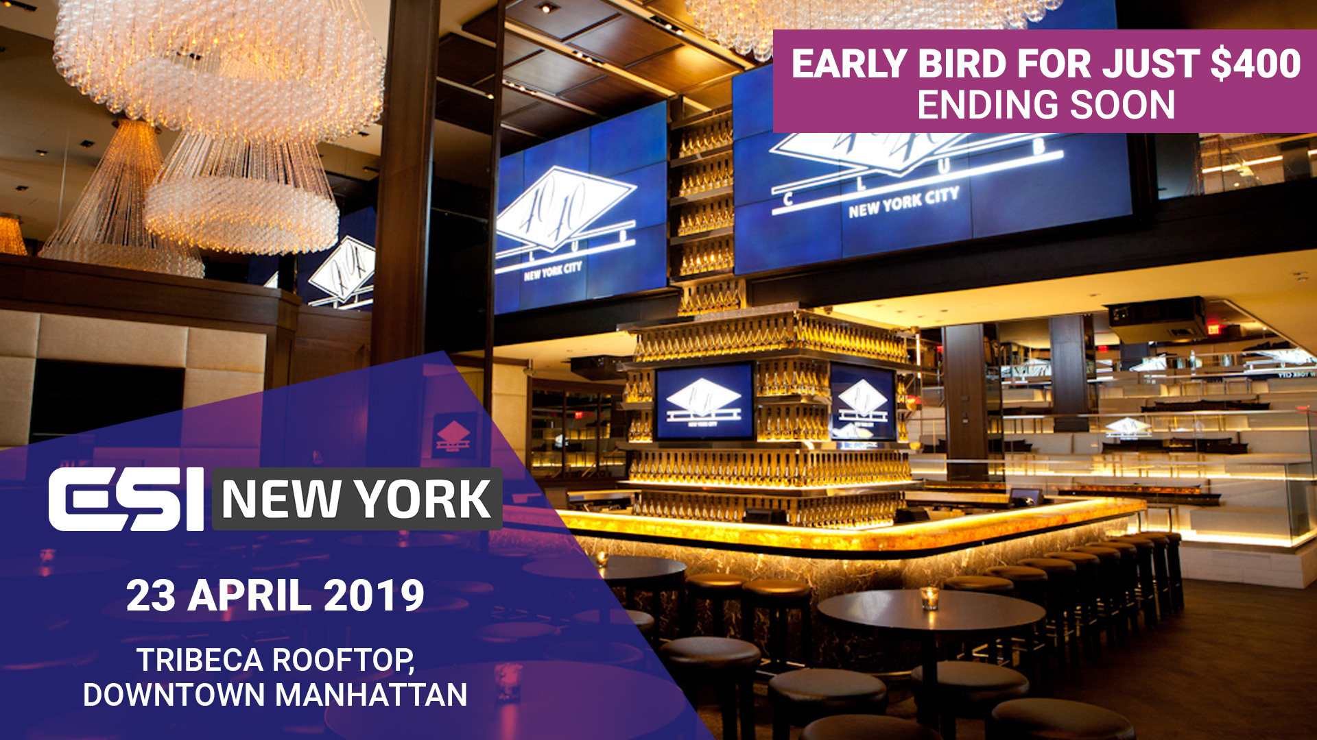 ESI NY PROMO 1920x1080px ending soon - Manchester next on the menu as ESI Winter Forum sells out