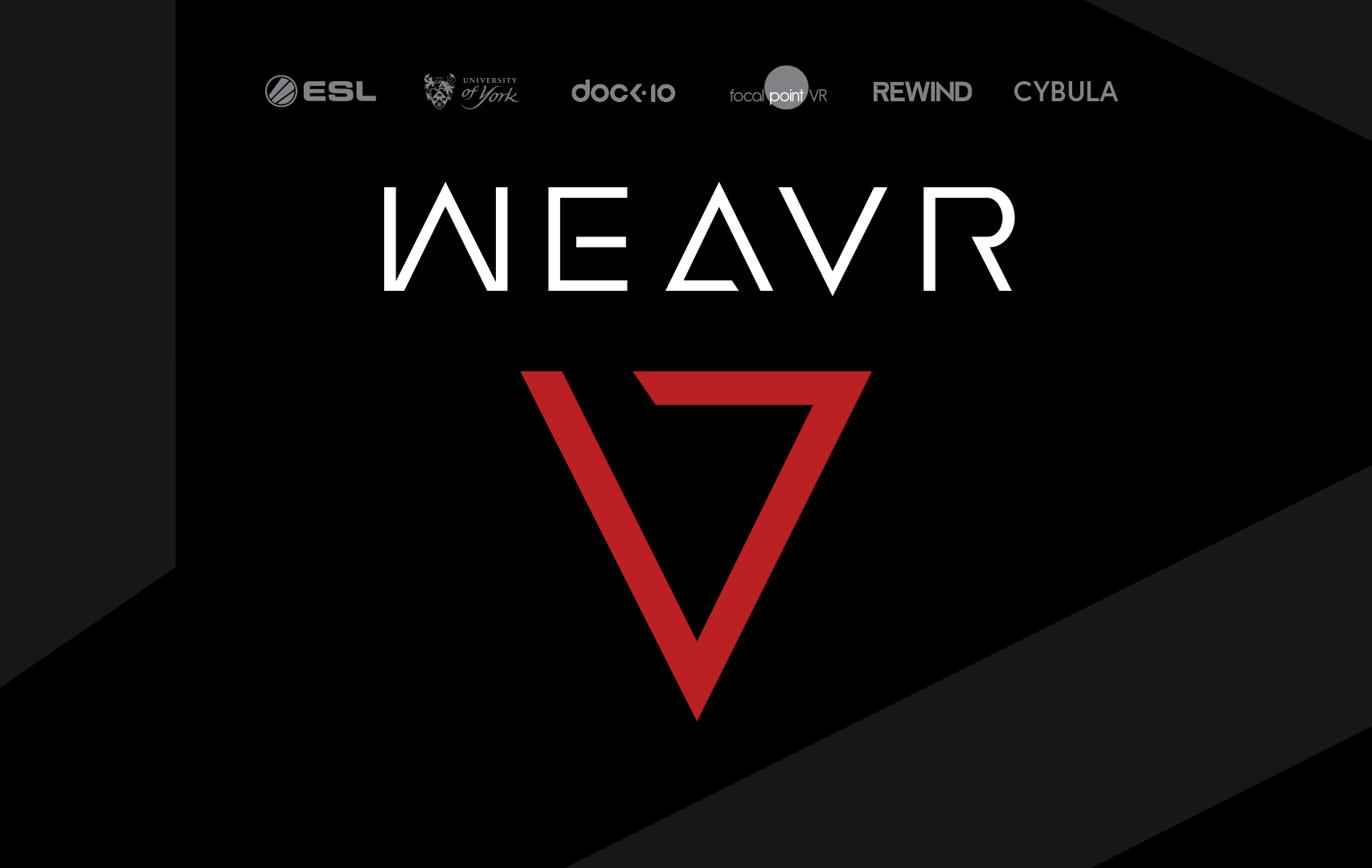 ESL x WEAVR LOGO - Manchester is the venue for ESI Spring as Weavr added to Winter Forum lineup