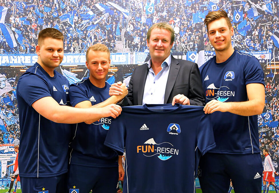 Hamburger SV FUN Reisen - Hamburger SV adds FUN-Reisen as esports jersey sponsor
