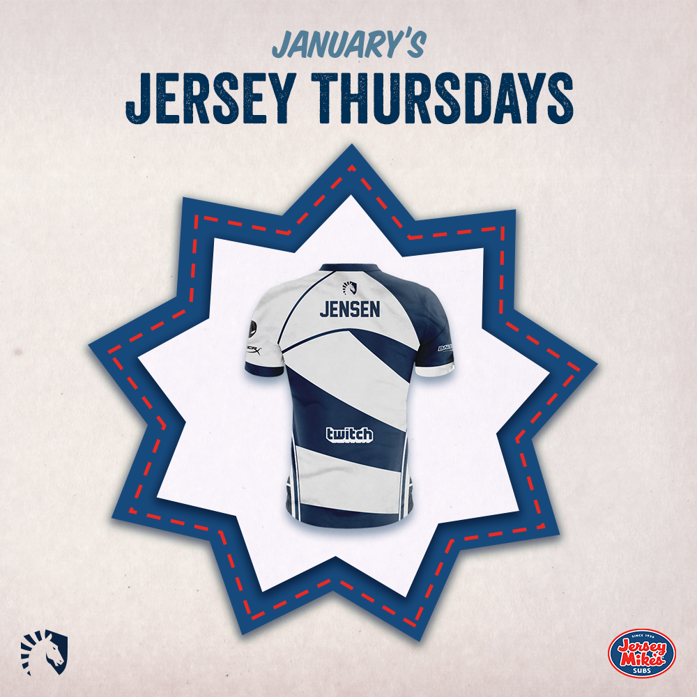 January - Team Liquid announces delicious new sponsorship with Jersey Mike's Subs