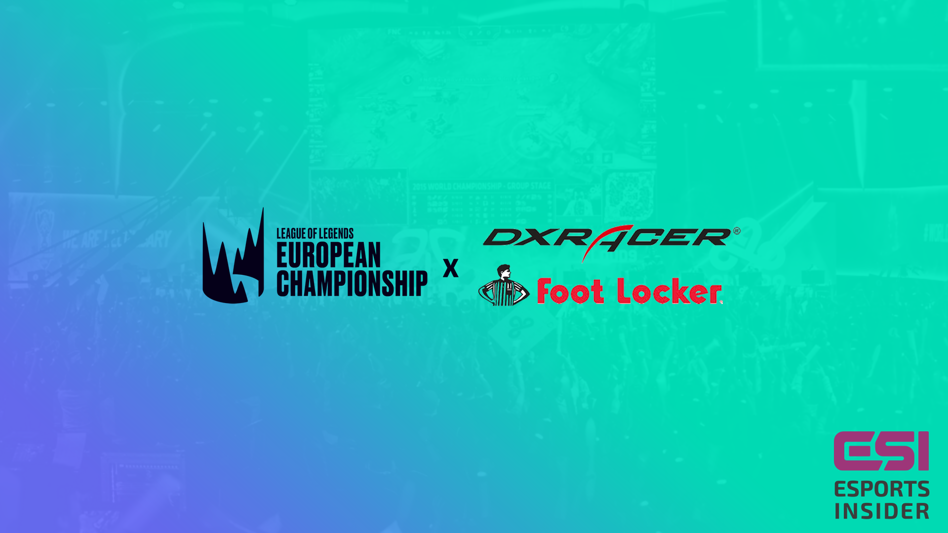 LEC DXRacer Foot Locker - LEC adds DXRacer and Foot Locker as partners for 2019 season