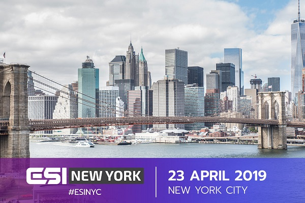 NYC 600x400 - We're almost sold-out: here's what to expect at #ESINYC
