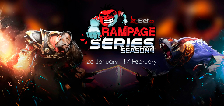 rampage - X-Bet.co extends partnership with EPULZE; announces Rampage Series #4
