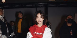 Chinese streamer Miss appears in New York Fashion Week