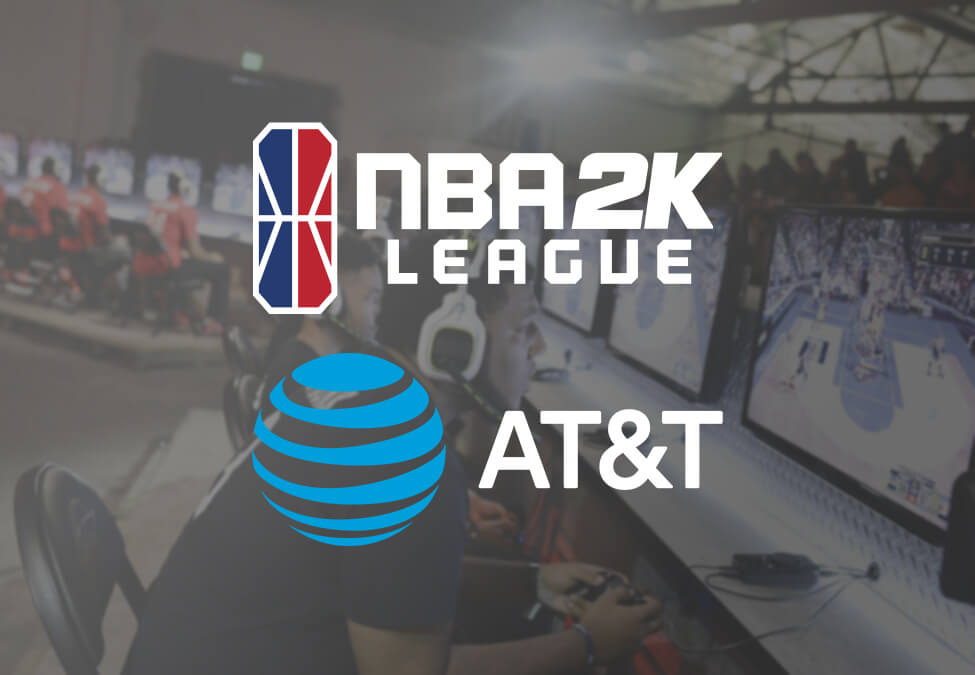 NBA 2K League ATT - NBA 2K League receives sponsorship from AT&T