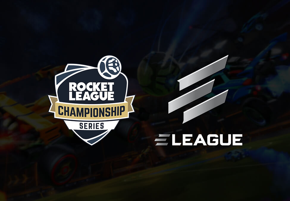 Rocket League Championship Series ELEAGUE - ELEAGUE and Psyonix enter content, business and event partnership