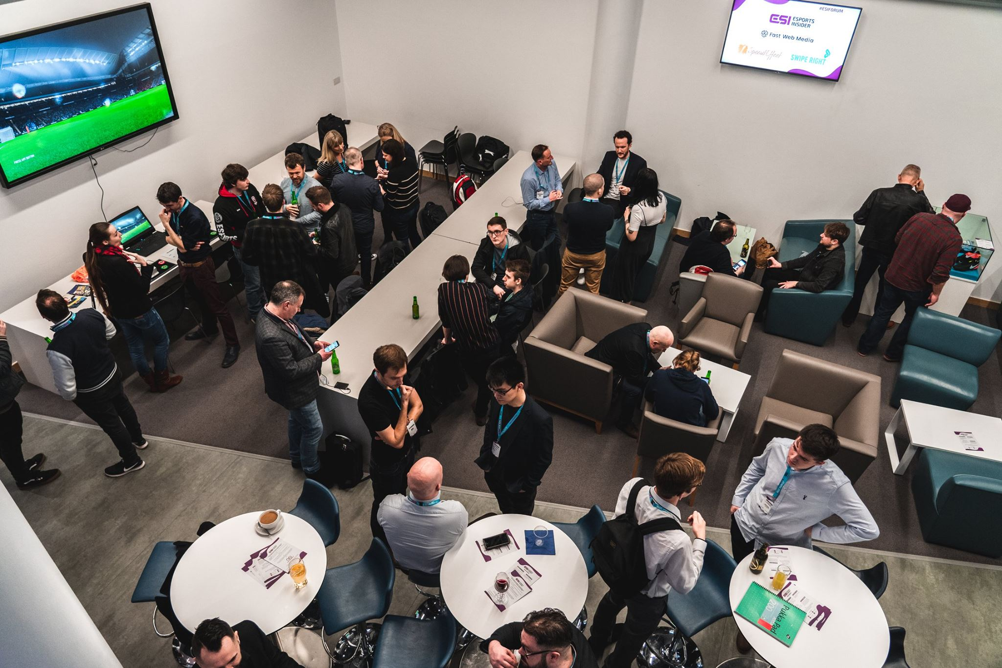 Networking at ESI Spring Forum Series