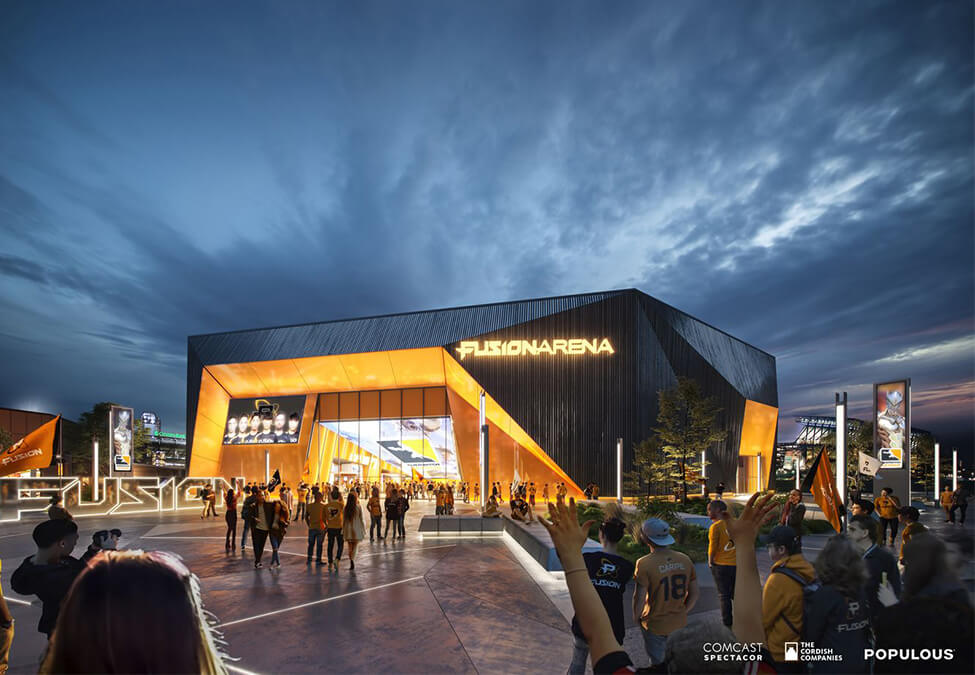Comcast Spectacor Philadelphia Fusion Arena