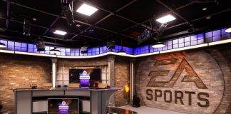 EA new broadcast studio