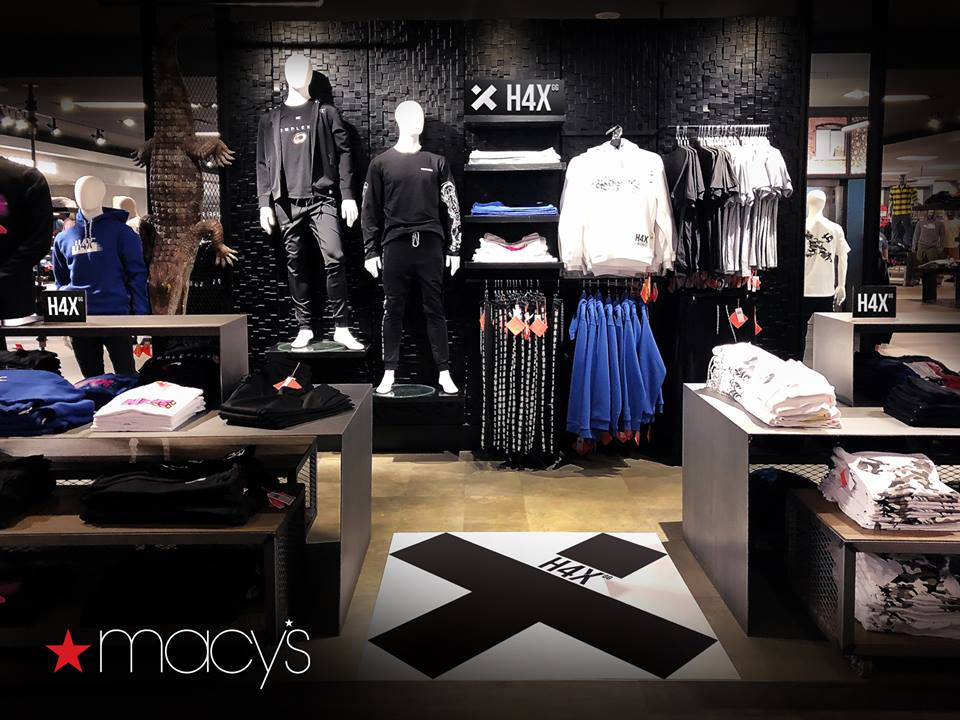 b0788057c75 H4X s apparel now stocked in 49 Macy s stores - Esports Insider