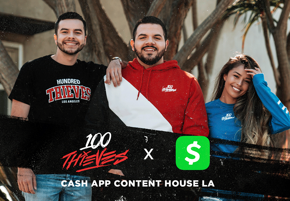 100 Thieves Cash App - 100 Thieves adds Cash App as content house sponsor
