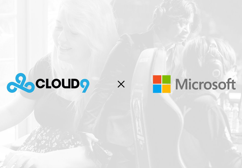 Cloud9 Microsoft - Cloud9 and Microsoft enter technology and analytics partnership