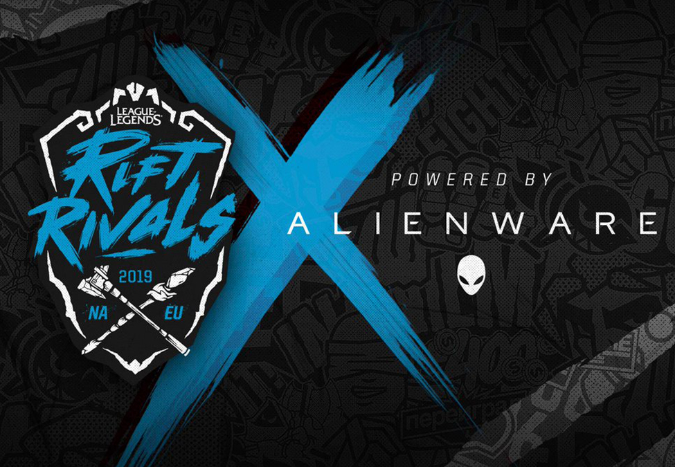 Alienware Rift Rivals - Rift Rivals adds Alienware as North America vs Europe presenting sponsor