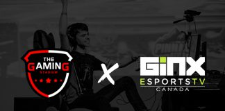 The Gaming Stadium GINX Esports TV Canada