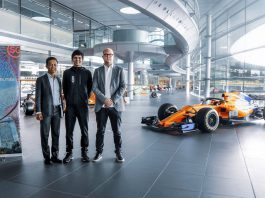 McLaren Shadow Project Race to Singapore