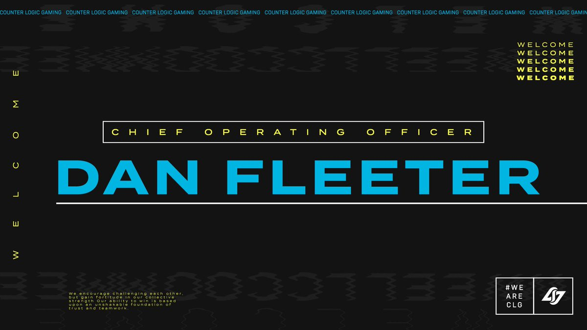 Dan Fleeter Counter Logic Gaming