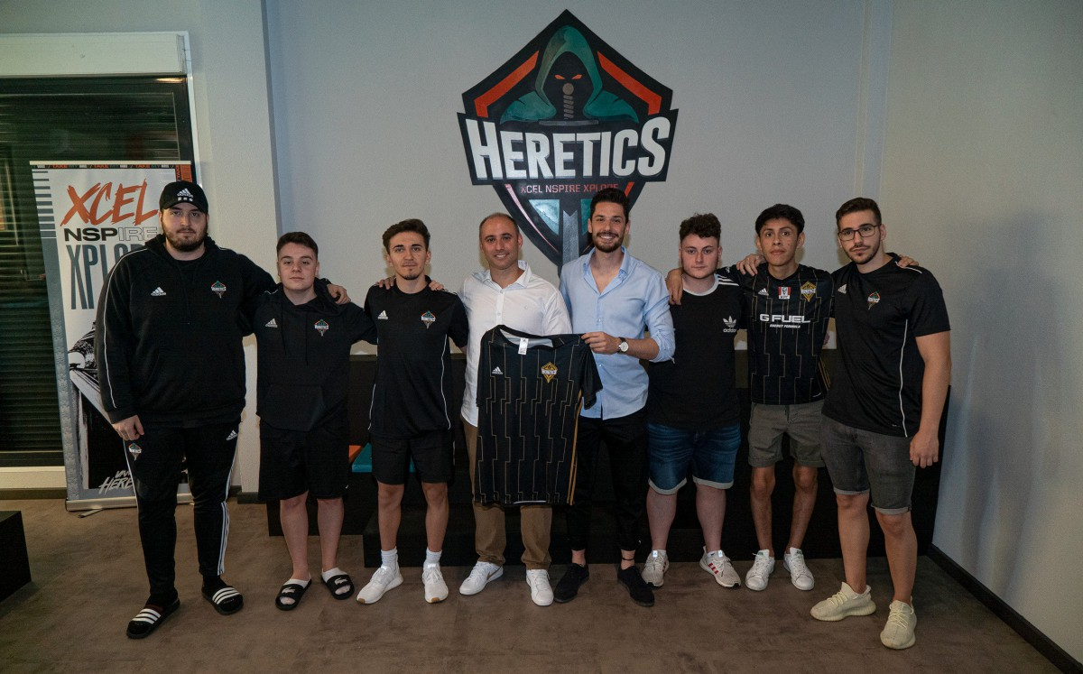 HereticsBesoccer - Team Heretics announces BeSoccer as technological partner