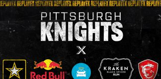 Pittsburgh Knights Replax FX Sponsors