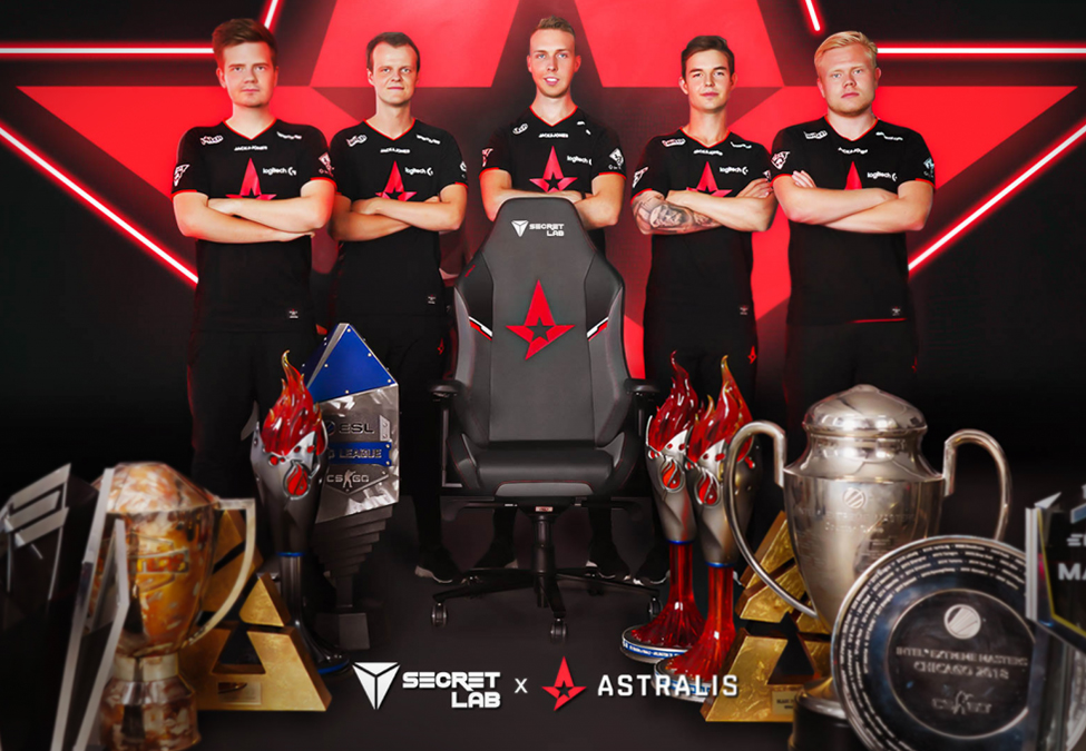 Astralis Secretlab - Astralis finds gaming chair partner in Secretlab
