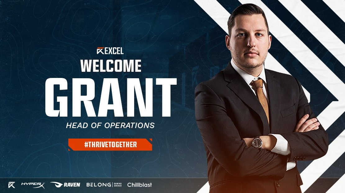 Excel Esports names Grant Rousseau as Head of Operations - Esports