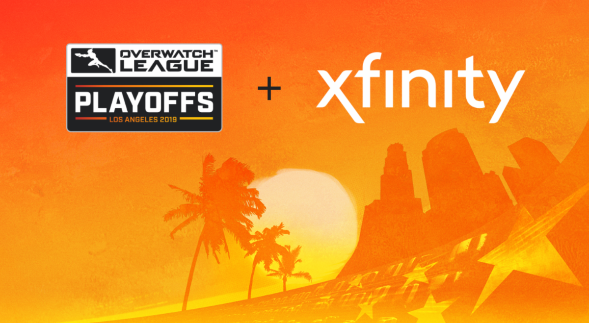 Xfinity tolol竞猜狂欢怎么选 sponsor Overwatch League p