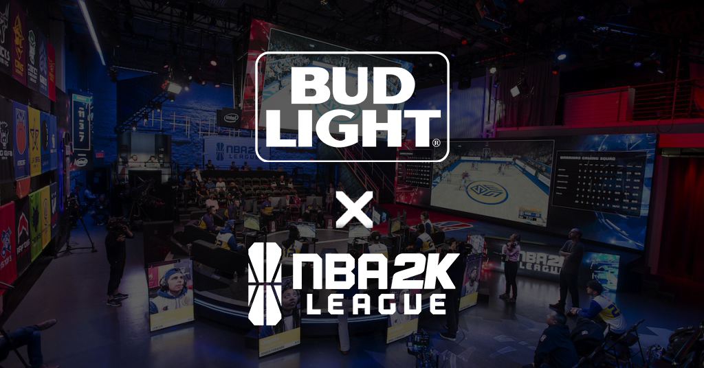 feat image - Bud Light branded official beer partner of NBA 2K League