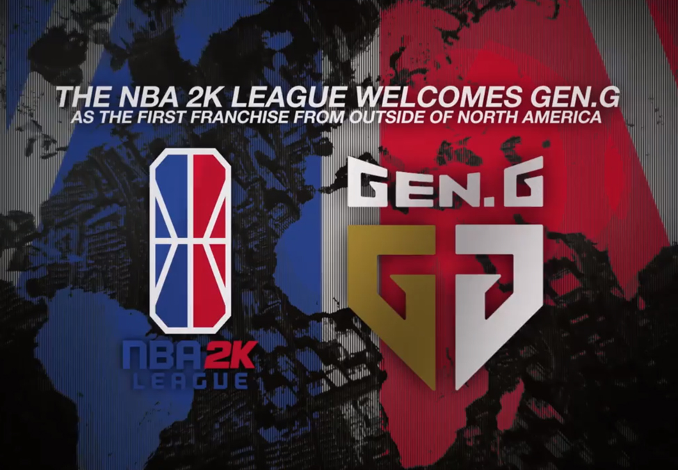 Gen.G esports NBA 2K League