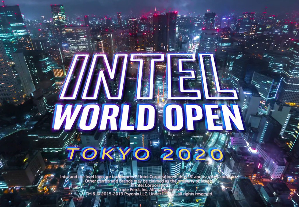 Intel World Open - Intel World Open brings esports to 2020 Summer Olympics