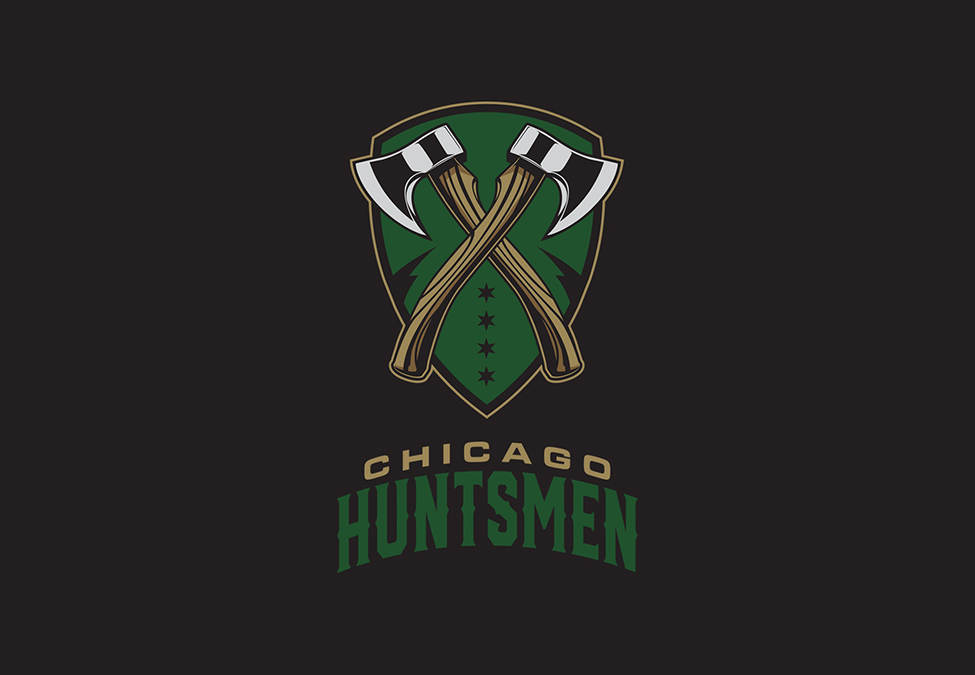 Chicago Huntsmen Branding