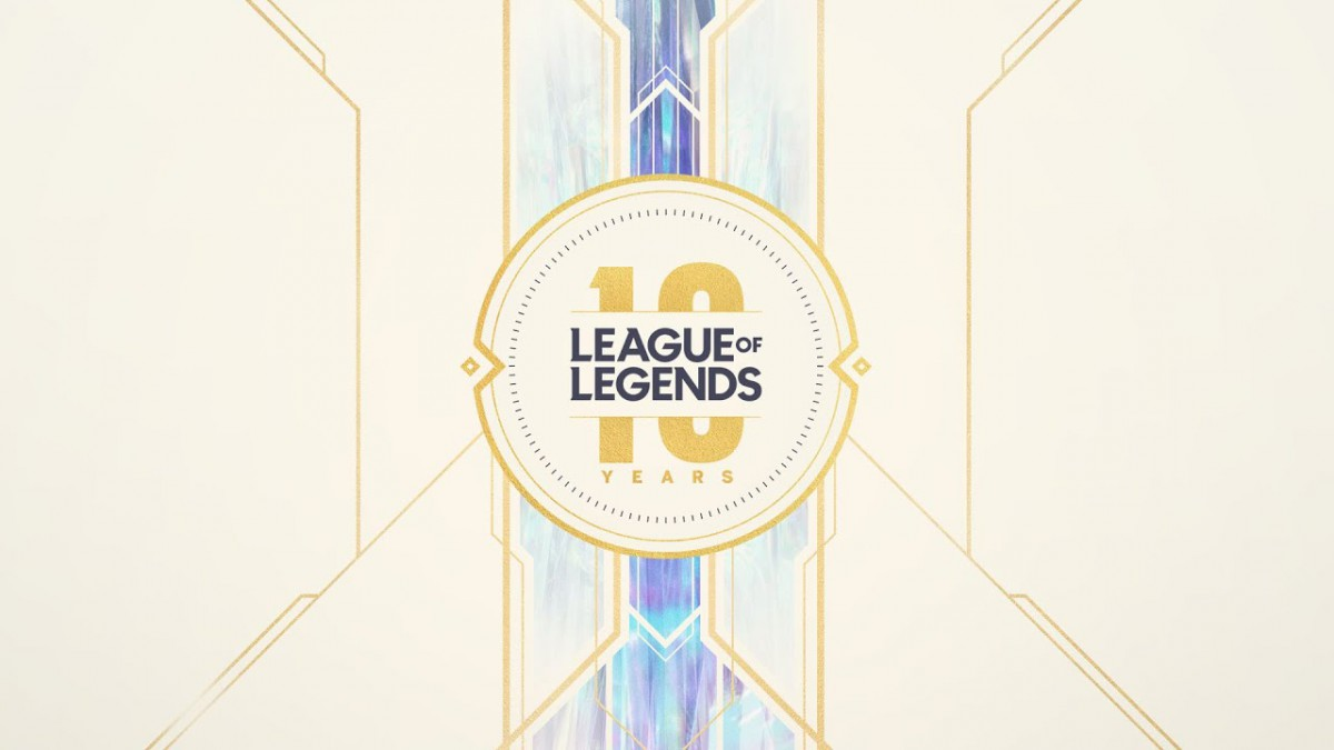 League of Legends 10 Year Anniversary