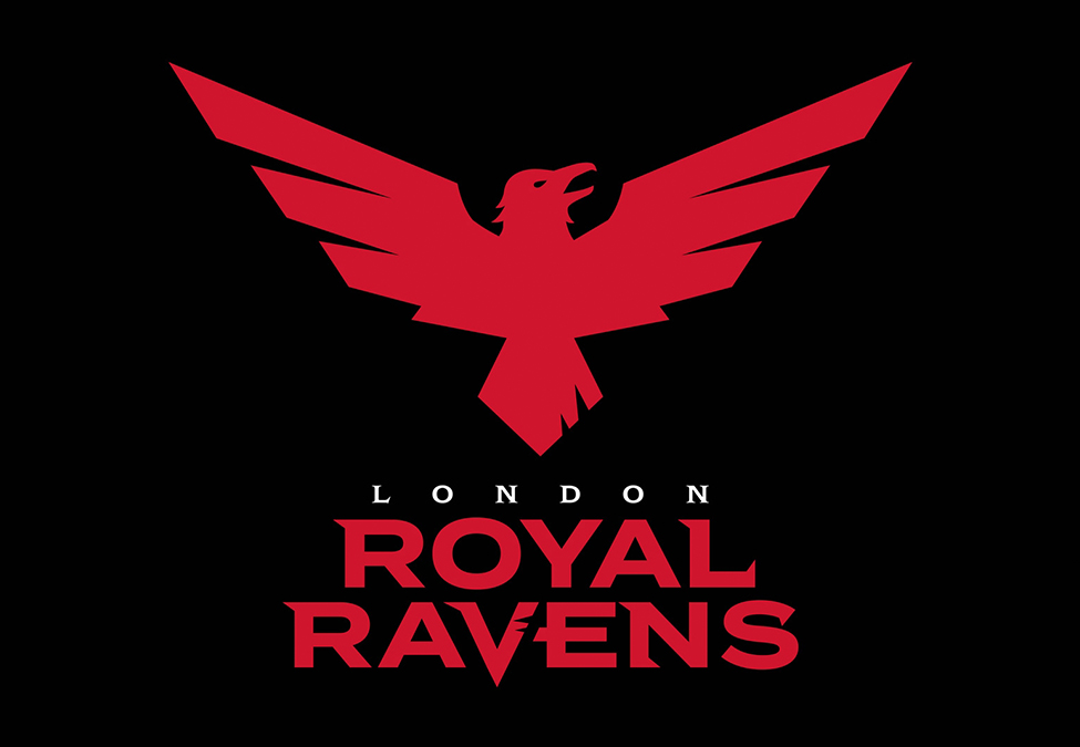London Royal Ravens Branding