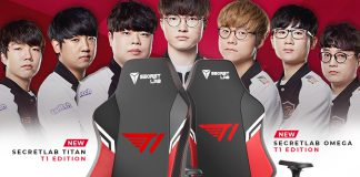 T1 Entertainment & Sports Secretlab