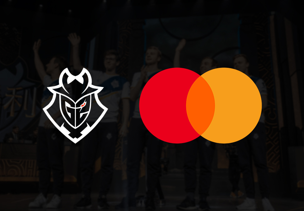 G2 Esports Mastercard - G2 Esports enters League of Legends partnership with Mastercard