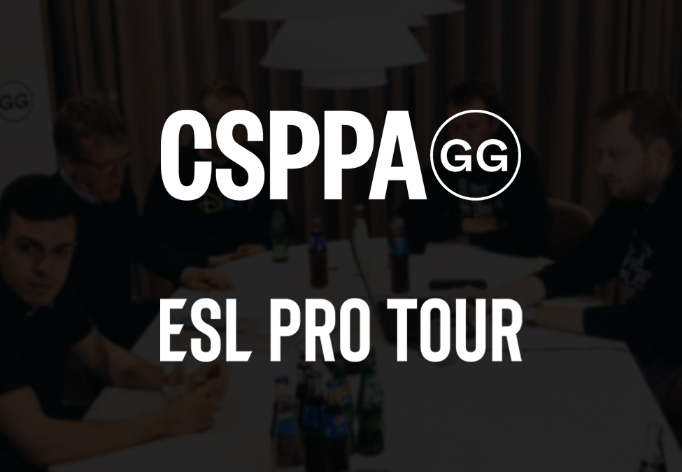 CSPPA ESL Pro Tour - CSPPA enters agreement with ESL and DreamHack for Pro Tour