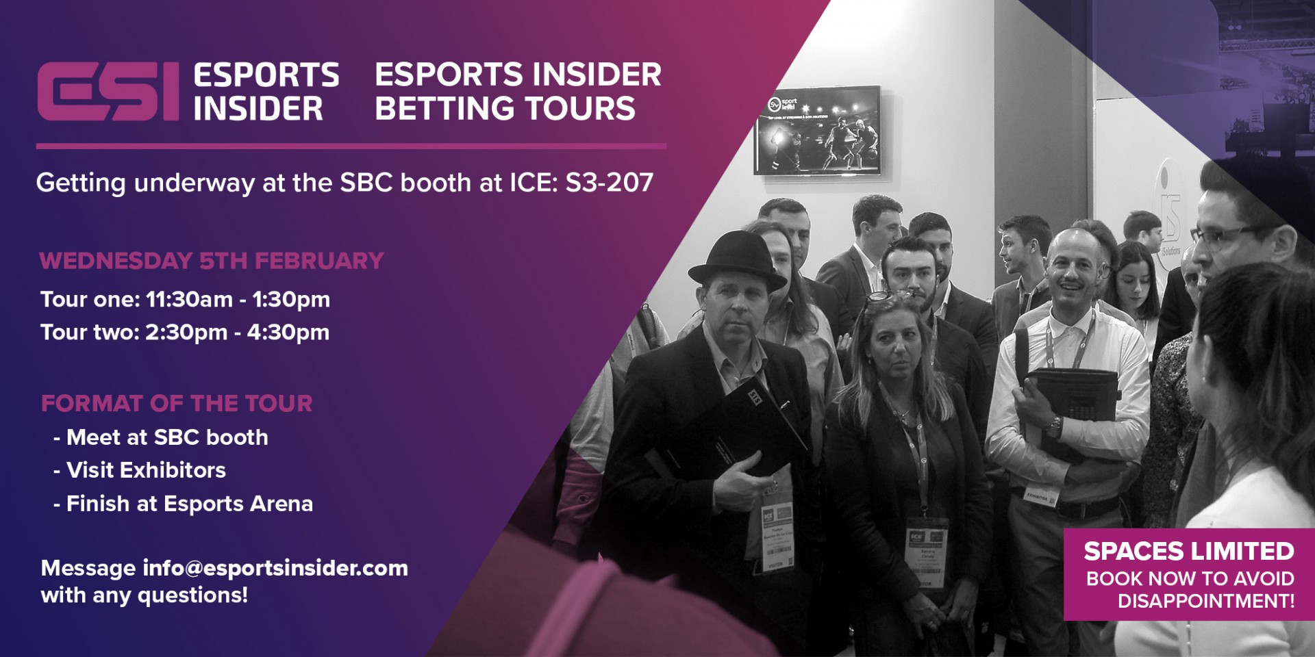 ESI Esports Betting Tour 2020