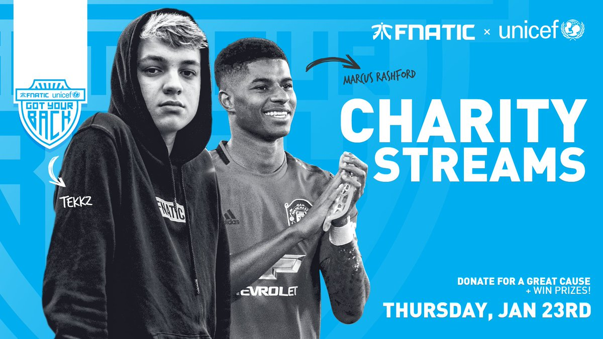 Fnatic UNICEF Marcus Rashford